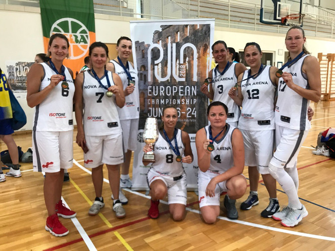 Женская баскетбольная команда NOVA ARENA