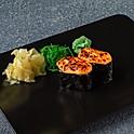 Запеченные суши с лососем (2 шт)
