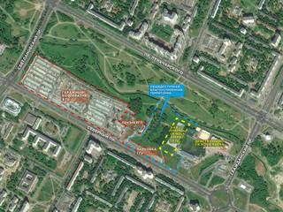 Территория в зоне и окружении строительства 2-ой очереди СК NOVA ARENA