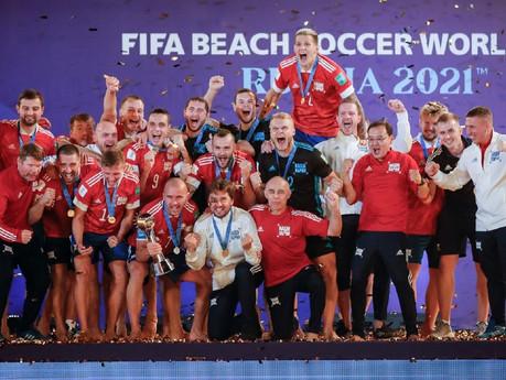 Сборная России - Чемпион Мира 2021!