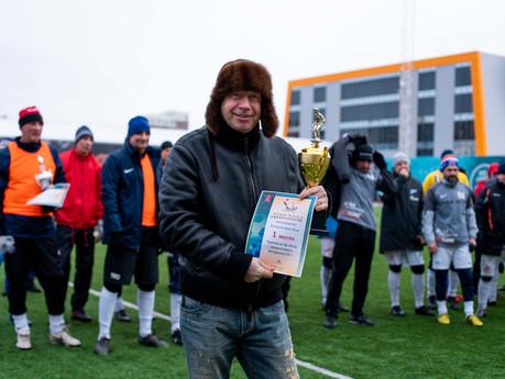 Команда ANNA NOVA - победитель Чемпионата СПб среди ветеранов 50+