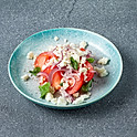 Салат из томатов и сыра