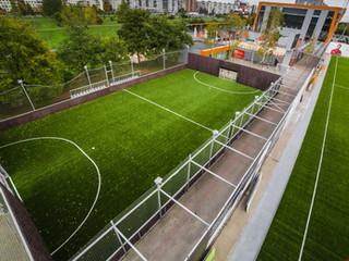 Играй в футбол с 50% скидкой в июне на настоящем футбольном поле!