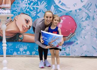 Мастер-класс по художественной гимнастике от Яны Кудрявцевой