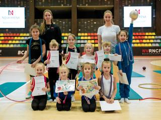 Мастер-класс по художественной гимнастике. Фотоотчет