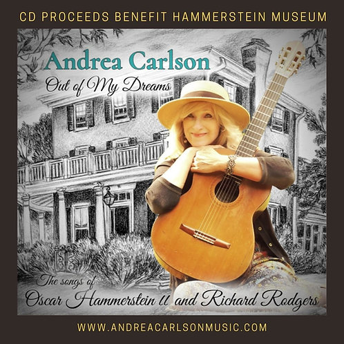 """""""Out of My Dreams"""" CD by Andrea Carlson"""