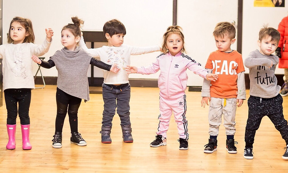Creative Movement (ages 3-5) - with Adrianne
