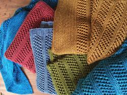 Silk-merino wrap