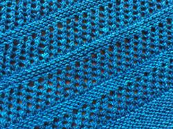 Silk/Merino Wrap Detail