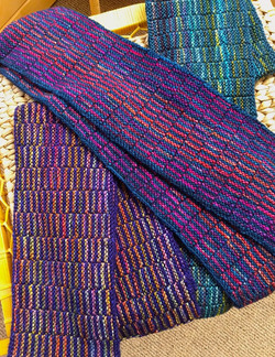 Colorful Sequence Scarves