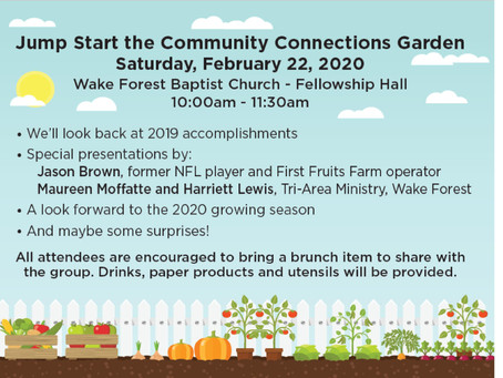 Garden Brunch invite - Feb. 22, 2020, 10:00 a.m.