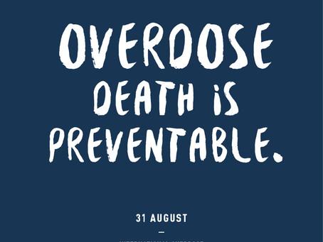 Overdose Awareness Day and Addiction Awareness Month