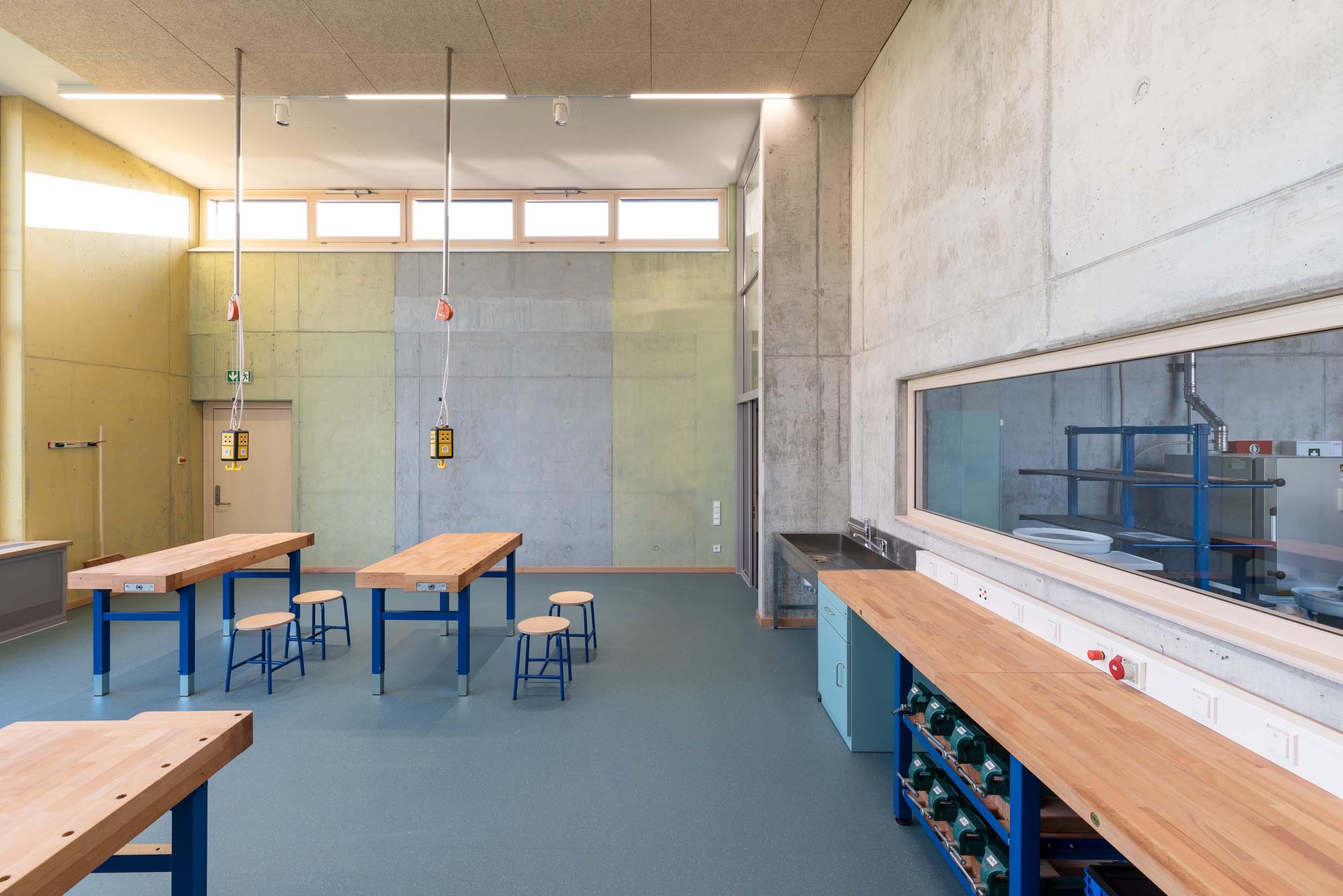 Hans Thoma Schule Oberursel Werkraum