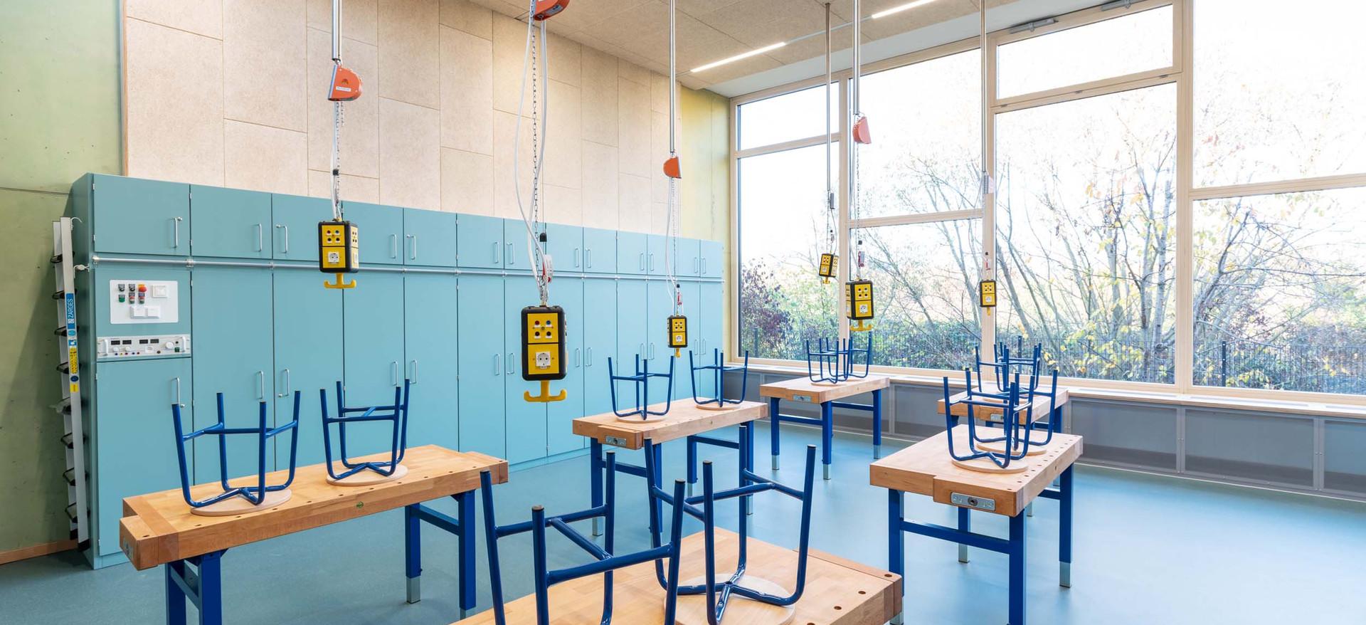Hans Thoma Schule Werkraum