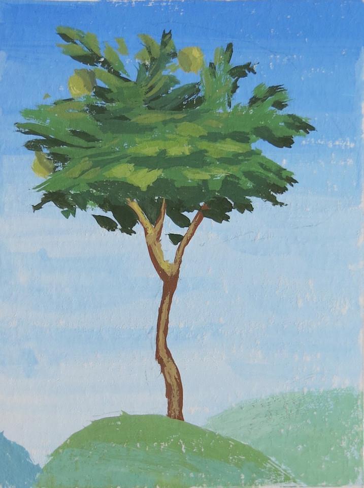 Hilltop Tree (Mirror of History)
