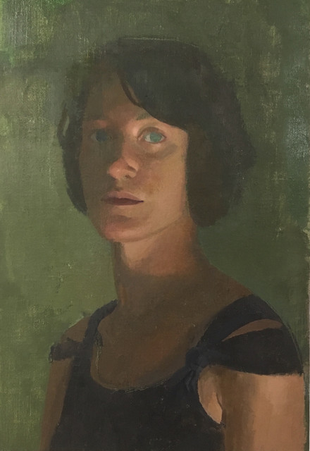 Self with Green Eye