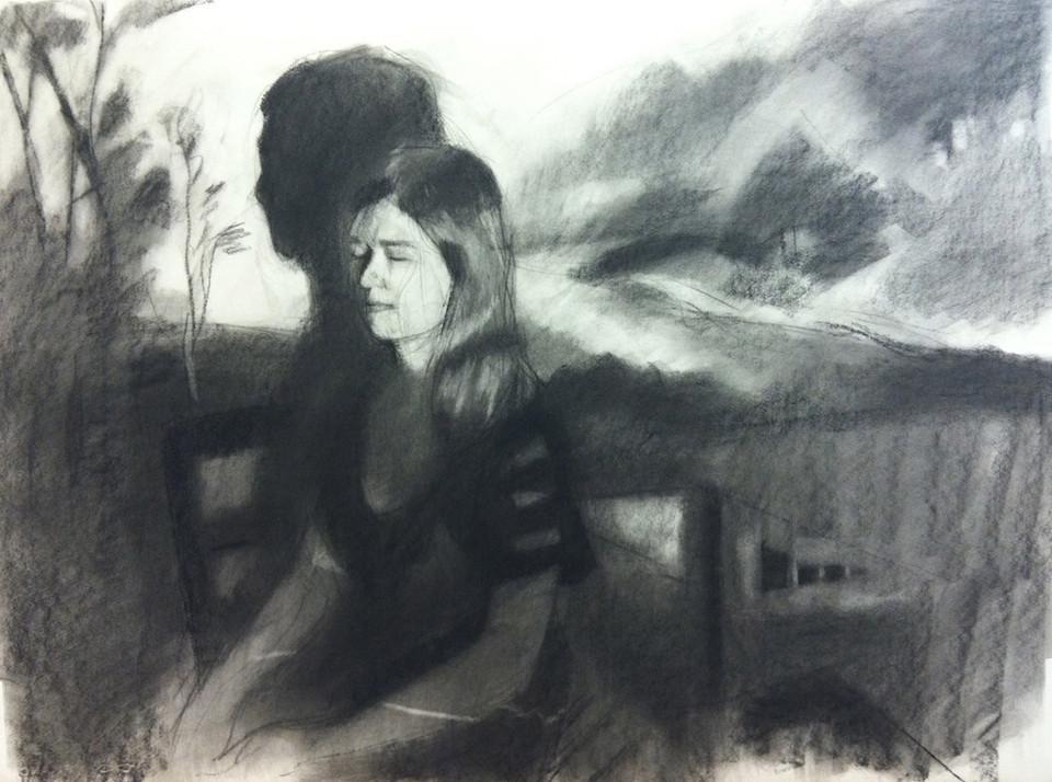 Tess with Brueghel