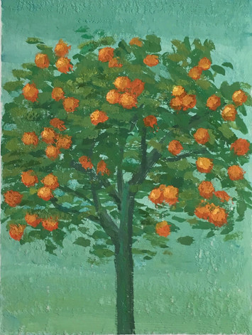 Orange Tree (Prayer Book of Cardinal Albrecht of Brandenburg)