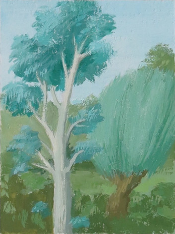 Pair of Trees (King René's Book of Love)
