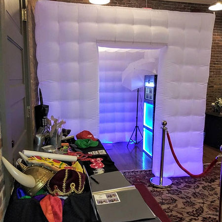 LED Booth Photo wedding rental Atlanta