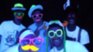 Black light, neon Photo Booth Rental Atlanta