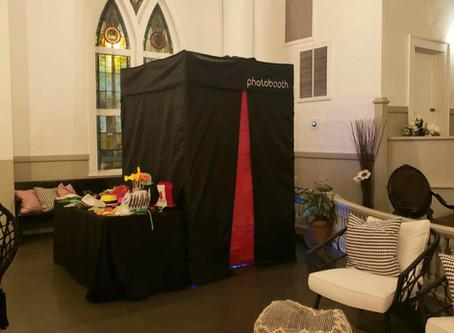 Photo Booth at the White Bohemian Church in Atlanta!