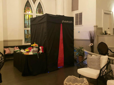 Photo Booth at the White Bohemian Church in Atlanta!