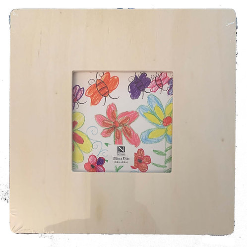 Square Picture Frame - Kids Craft