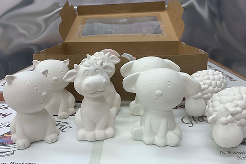 Animal Party Box for 8