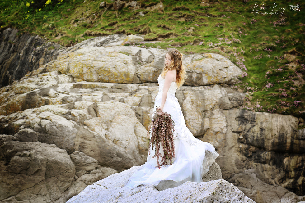 Blue Bug Photography Rock The Frock or Trash The Dress Shoot North Wales