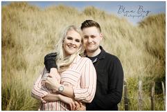 Blue Bug Photography Engagement Sand dunes