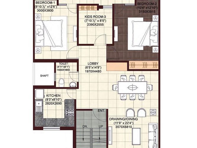 wave-floors-First-Floor-Plan-2BHKStudy.j