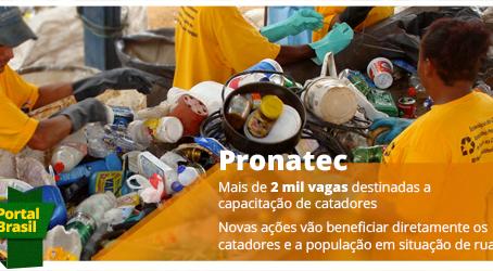 Bolsas e cursos da área ambiental da PRONATEC