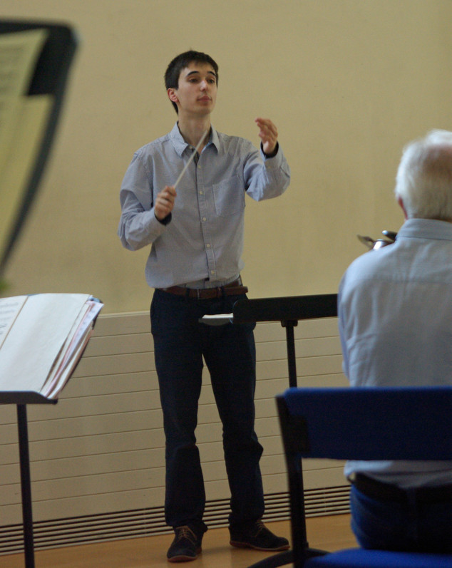 A young conductor hones their skills with SARO