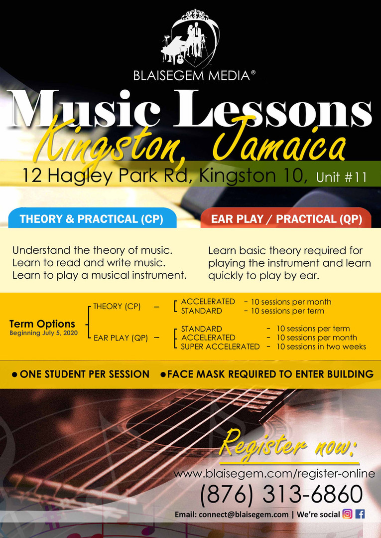 Blaisegem Media Music Lessons 2020