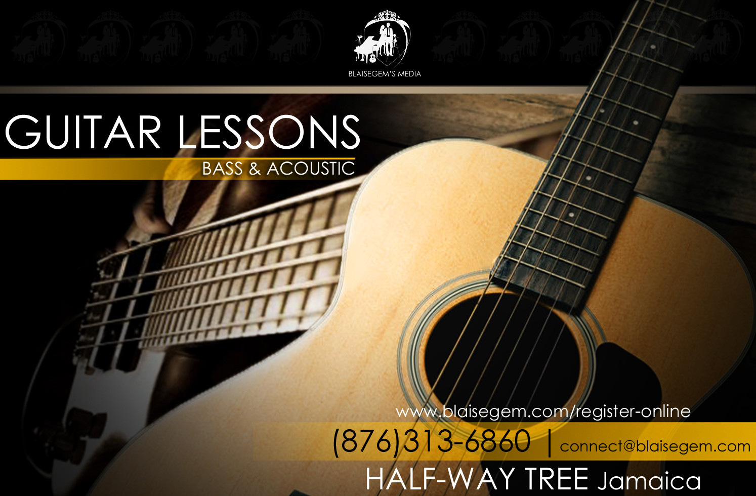 Learn to play the guitar at Blaisegem