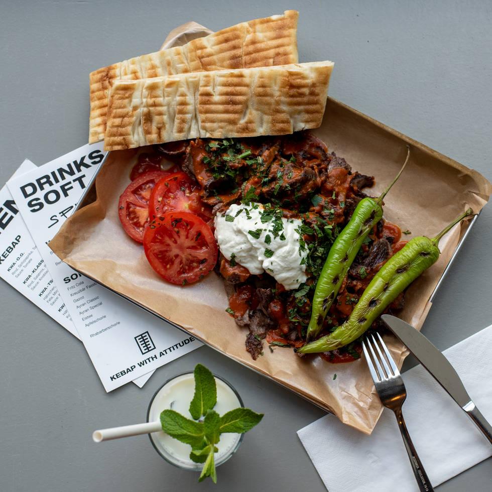 Iskender Kebab Berlin - KWA OG Tray