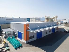 2015年10月 正和運輸倉庫棟増築工事