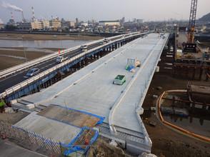 2017年3月 国道2号栄橋床版工事