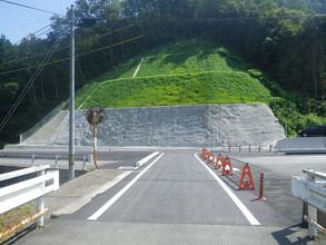 2016年9月 一般国道433号(伏谷)歩道新設工事(27-2)