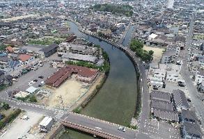 2019年7月 手城川流域治水対策河川工事(2工区)