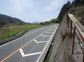2017年12月 一般国道261号(竹迫工区)道路改良工事(28-2)