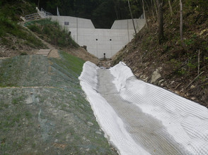 2017年10月 治山施設機能強化事業 維持補修工事 No.102