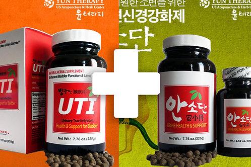 방광단 + 안소단