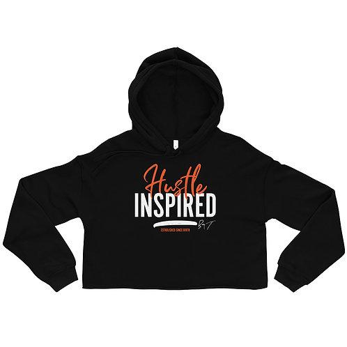 Hustle Inspired - Women's Crop Hoodie