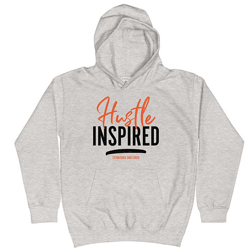 Grey Kids - Hustle Inspired Hoodie copy