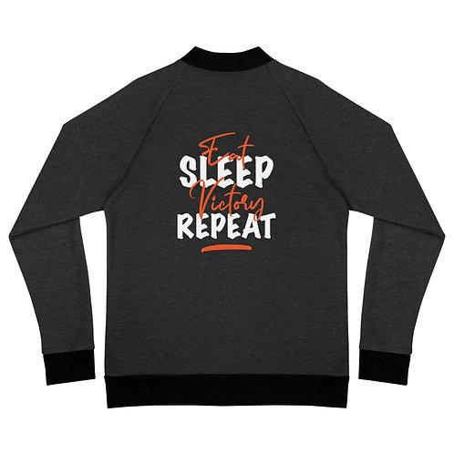 Eat, Sleep, Victory, Repeat - Zip Bomber Jacket