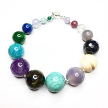 Gemstone Planet Bracelet