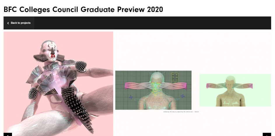 british fashion council graduate preview
