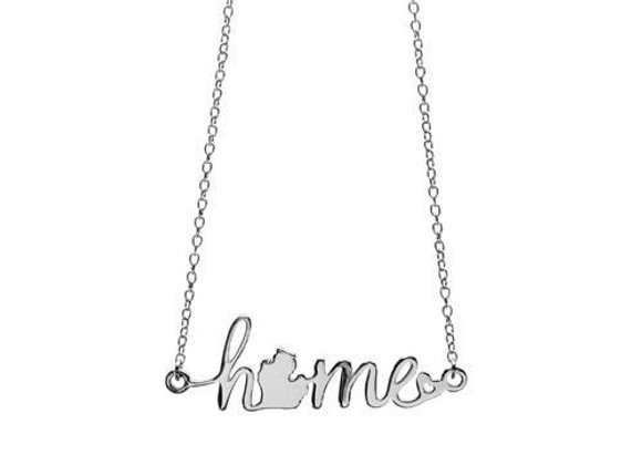Love Michigan Home Necklace